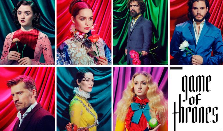 Game of Thrones oyuncularının Time Dergisi'ne özel pozları